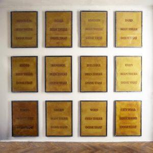 been there done that - Gesamtansicht, Installationsaufbau Röntgen-Kunstinstitut, Tokyo - Wolfgang Stiller