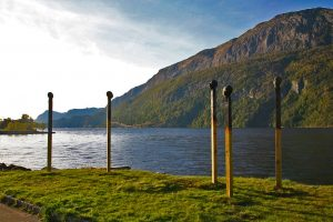Matchstickmen - Ausseninstallation in Dale, Norwegen 2013 - Wolfgang Stiller