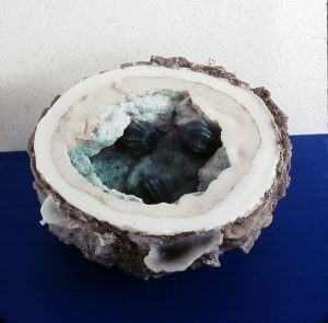Mineral, 2003, Wachs, 37 x 37 x 23cm - Wolfgang Stiller