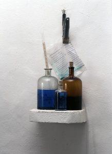 resistente Organismen - 1996, Mixed Media, Detail - Wolfgang Stiller