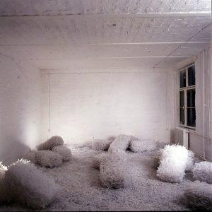 Schüttungen, 1991,Kunststoff variable Größe - Wolfgang Stiller
